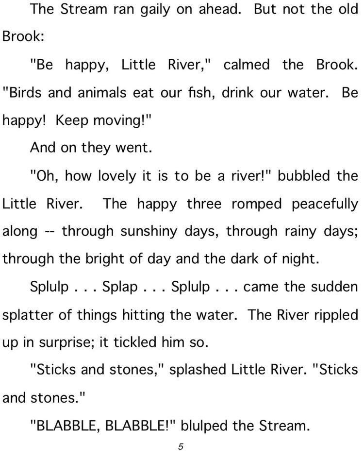 river #- final-person# 5