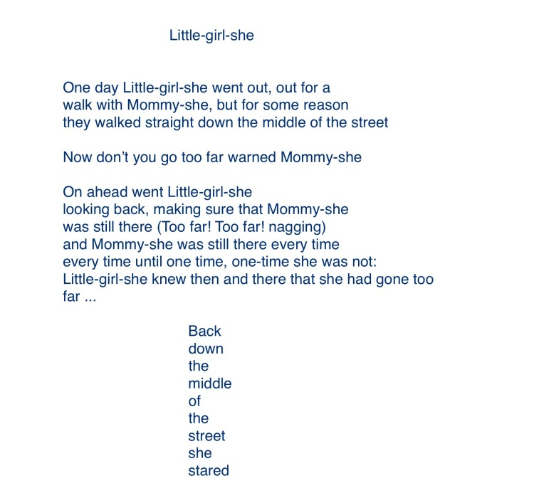 Little-girl-she, finis 1